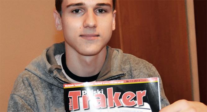 Arek Wdowik - polski traker