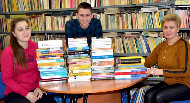 Nowości książkowe wbibliotece szkolnej