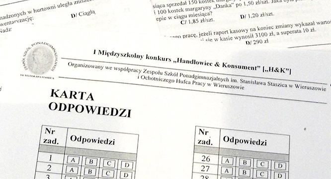 """Ietap konkursu """"Handlowiec and Konsument"""""""