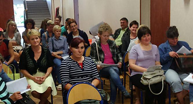 Erasmus+ - spotkanie zuczniami irodzicami