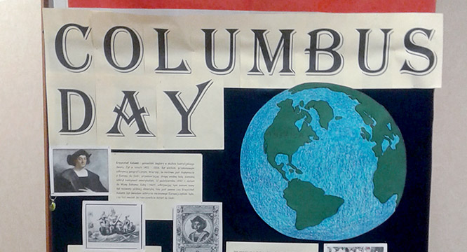 """Columbus Day"" w Staszicu"