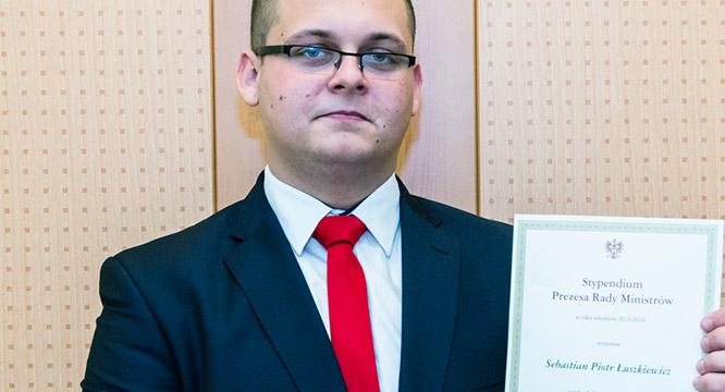 Stypendysta Premiera RP – Sebastian Łuszkiewicz