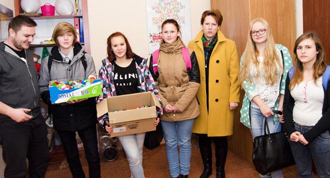 OHP wspiera nas wakcjach charytatywnych ipreorientacji zawodowej