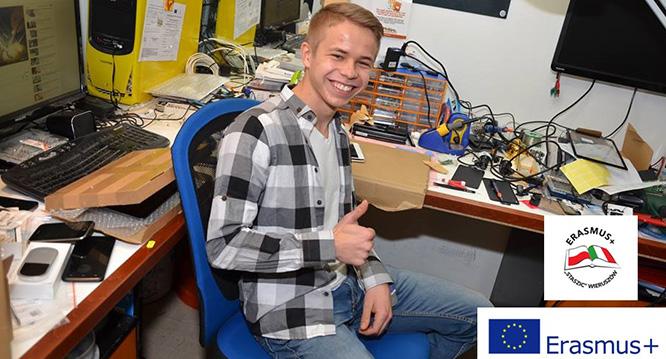 Erasmus+ – Mechanicy, informatycy iekonomistki też pracują