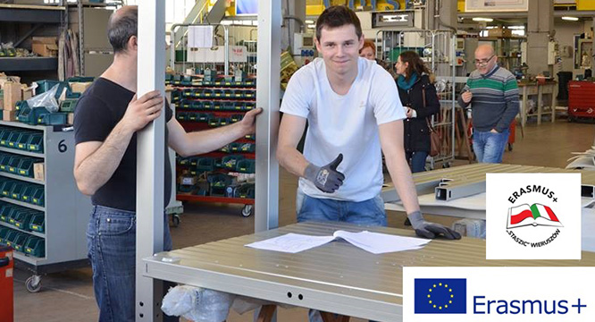 Erasmus+ – Praktyki zawodowe mechatroników