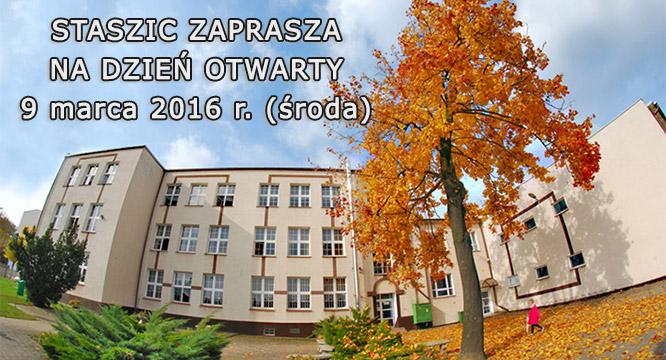 Staszic zaprasza naDzień Otwarty Szkoły