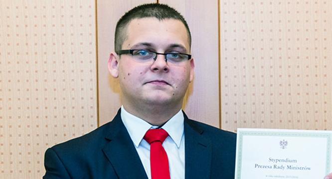 Sebastian Łuszkiewicz najlepszy wwojewództwie łódzkim