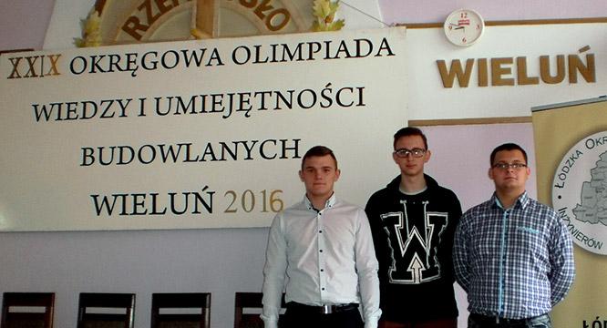 Etap okręgowy XXIX edycji Olimpiady Wiedzy iUmiejętności Budowlanych