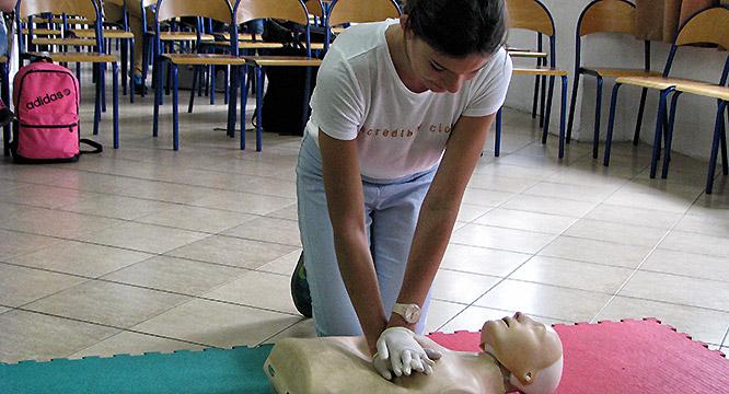 Konkurs pierwszej pomocy przedmedycznej