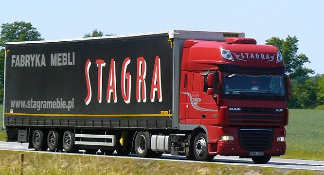 """Logistycy wprzedsiębiorstwie """"STAGRA"""""""