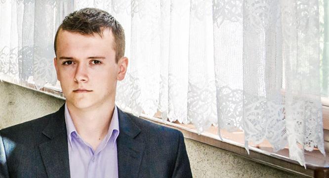 """Tomasz Olszowiak – reporter ze""""Staszica"""""""
