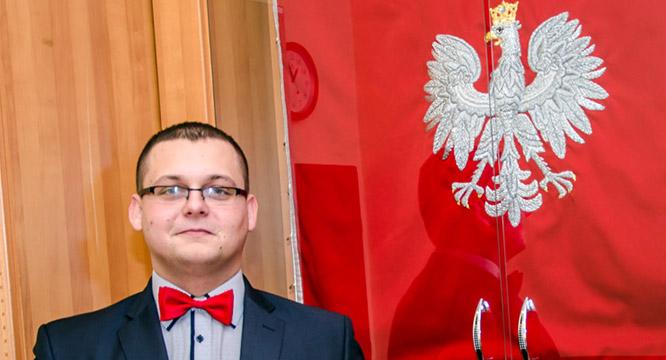 Sebastian Łuszkiewicz stypendystą Premiera RP