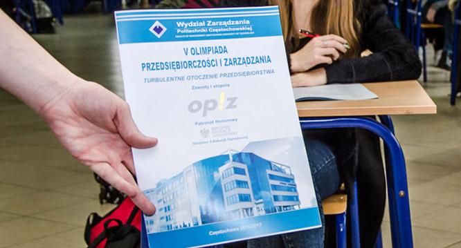 """""""Turbulentne otoczenie przedsiębiorstwa"""" – tematem V Olimpiady PiZ"""