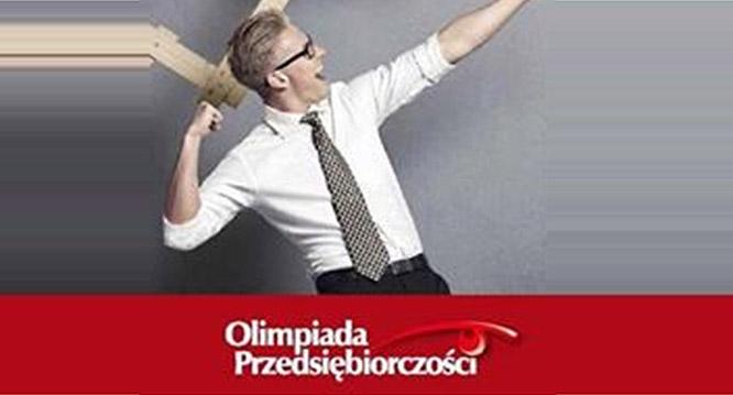 Tomasz Olszowiak wII etapie Olimpiady Przedsiębiorczości