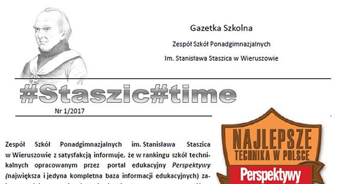 Kolejny wydanie #staszic#time (nr1/2017)