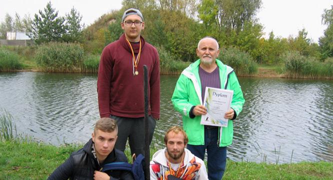 Wojewódzkie Mistrzostwa wWędkarstwie Spławikowym Młodzieży OHP