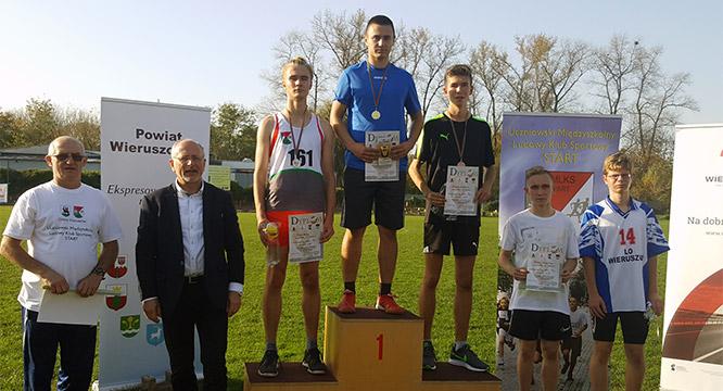 V Mistrzostwa Gminy Wieruszów iPowiatu Wieruszowskiego wLekkiej Atletyce