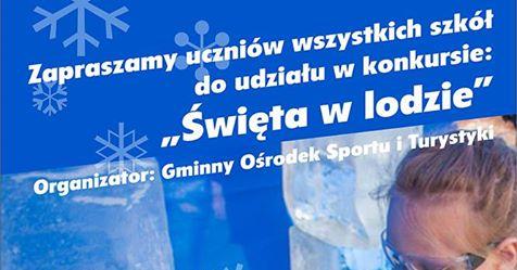 GOSiT Wieruszów zaprasza namikołajkowy konkurs – Rzeźby wlodzie