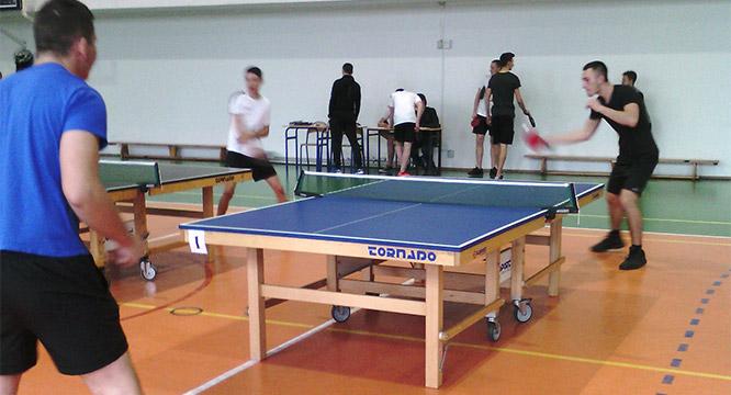Mistrzostwa Szkoły wTenisie Stołowym
