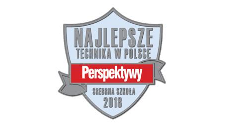"""Krajowy Ranking Techników – Staszic ze""""Srebrną Tarczą 2018"""""""