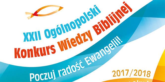Szkolny etap Ogólnopolskiego Konkursu Wiedzy Biblijnej