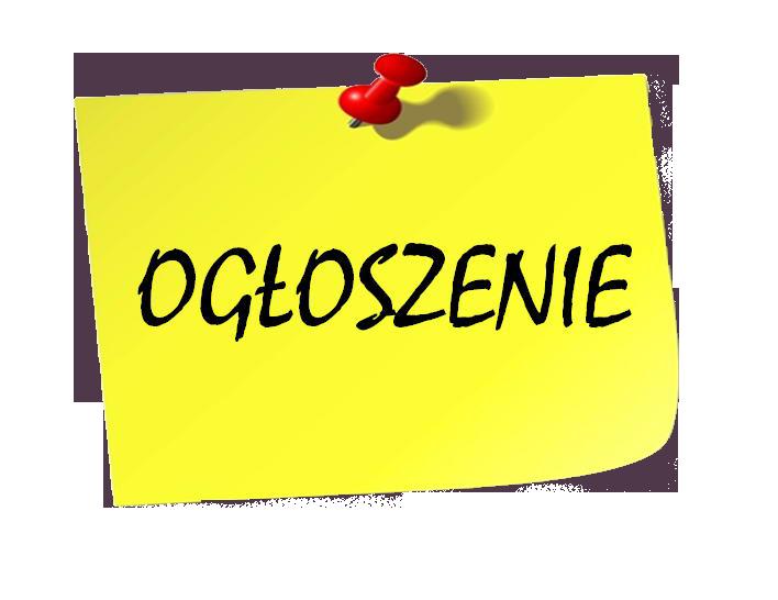 """Komunikat dla uczniów, którzywzięli udział wprojekcie: """"Fachowiec – kompleksowy program rozwoju ZSP wWieruszowie"""""""