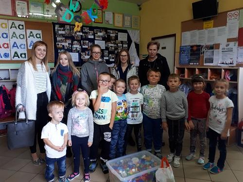 Akcja charytatywna Hufca OHP, doktóregonależą uczniowie naszej szkoły