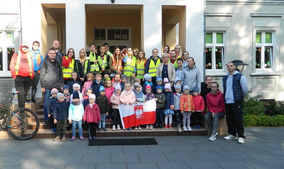 Rajd rowerowy na100-lecie Niepodległości Polski