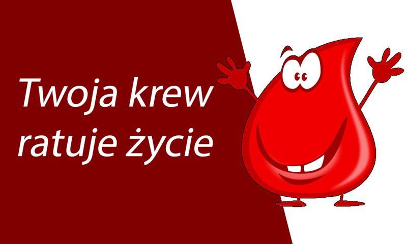 Zapraszamy naakcję krwiodawstwa, czwartek – 11 października!