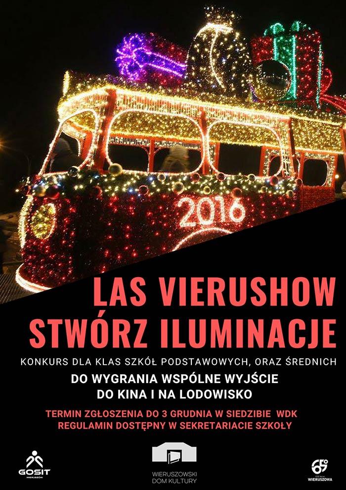 Las Vierushow – 6 grudnia 2018! Zapraszamy dozabawy!