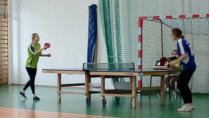 Tenis stołowy – zawody powiatowe