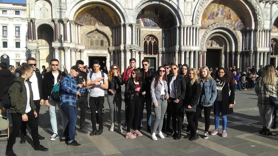 Erasmus + – wycieczka doWenecji