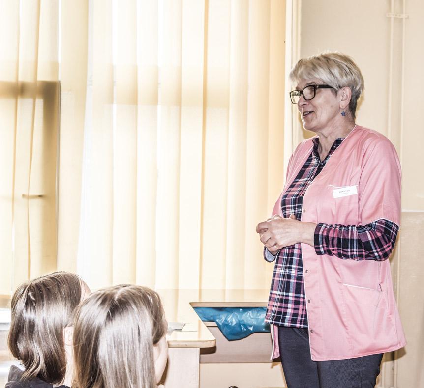 Profilaktyka przewlekłych chorób wątroby – prelekcja pielęgniarki szkolnej