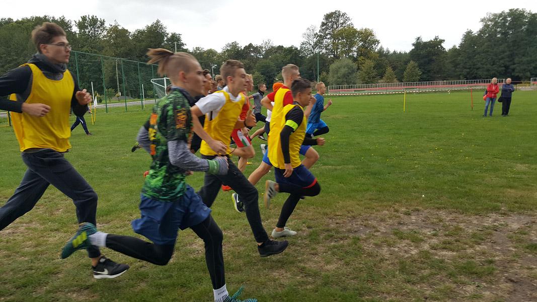 Mistrzostwa Powiatu Wieruszowskiego wIndywidualnych Biegach Przełajowych