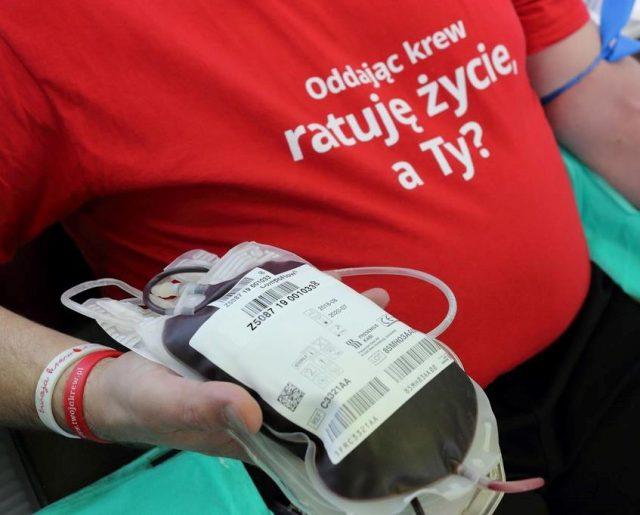Podziękowania dla krwiodawców