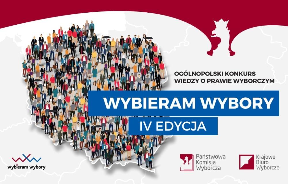 """IV Ogólnopolskim Konkursie Wiedzy oPrawie Wyborczym """"Wybieram Wybory"""""""
