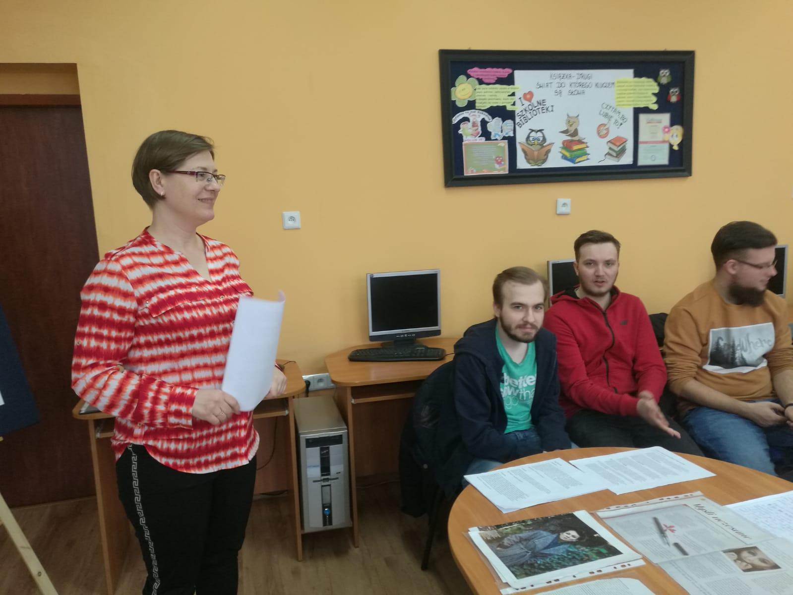Warsztaty poświęcone twórczości noblistki Olgi Tokarczuk