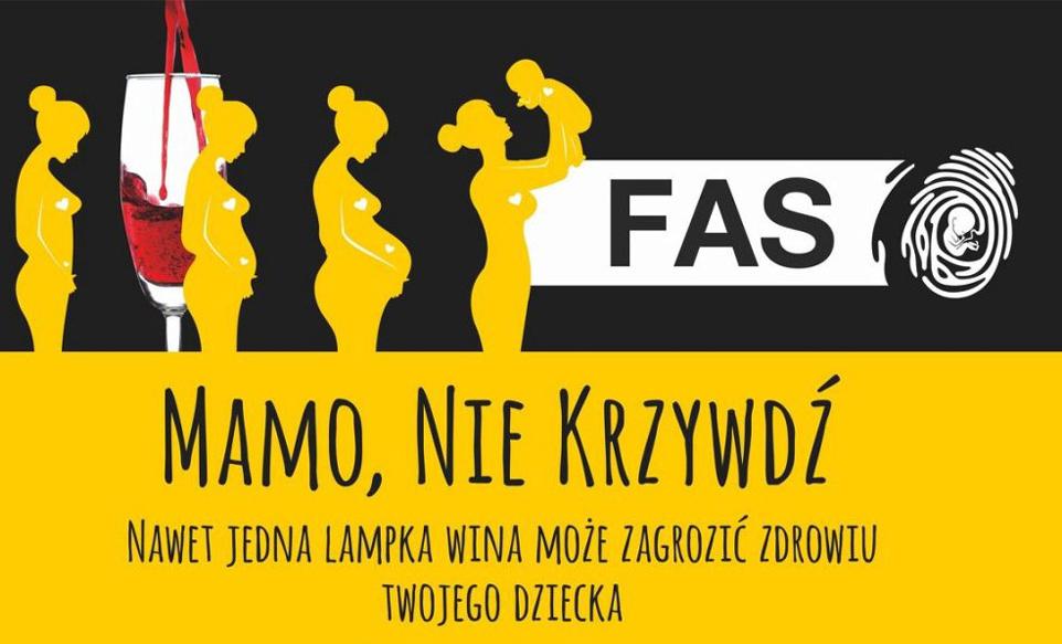 FAS – płodowy zespół alkoholowy