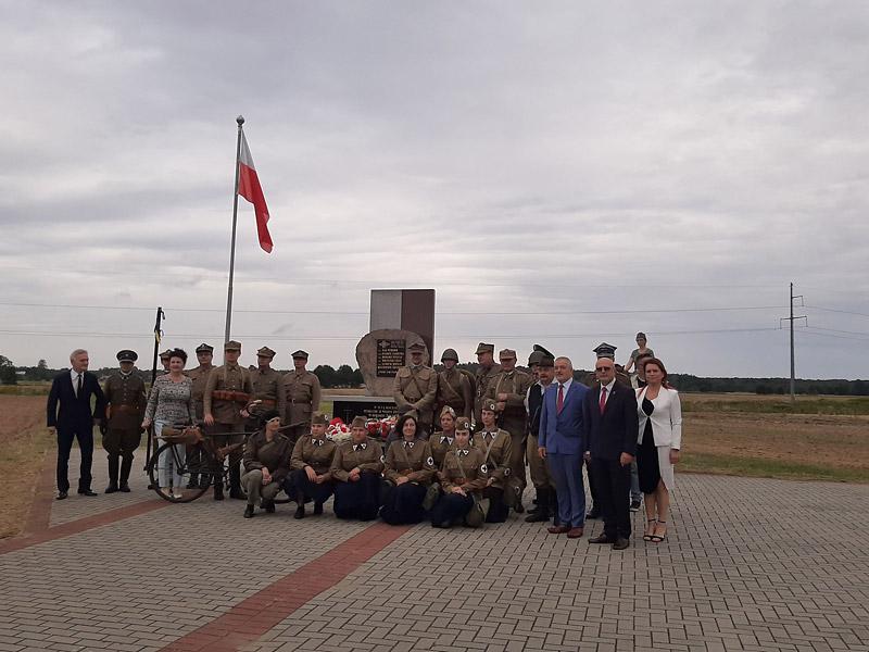Powiatowa uroczystość zokazji rocznicy wybuchu II wojny światowej