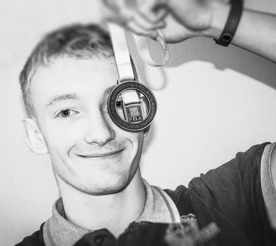 Nanaszych oczach rośnie talent lekkoatletyczny – Jakub Szczepaniak