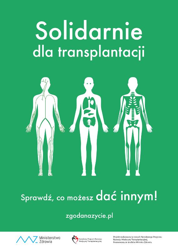 Transplantacja – tokierowanie się wswym postępowaniu dobrem innych, gotowość dopoświęceń