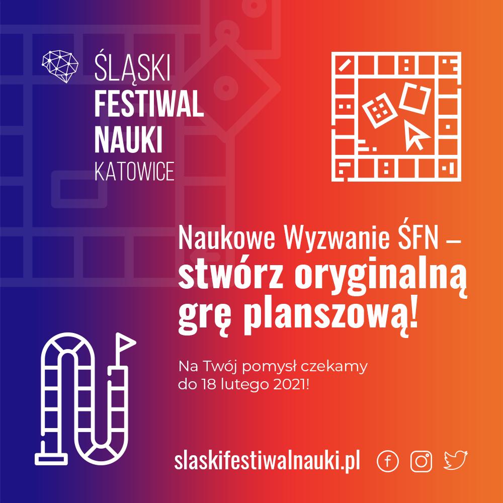 Śląski Festiwal Nauki KATOWICE – zaprasza