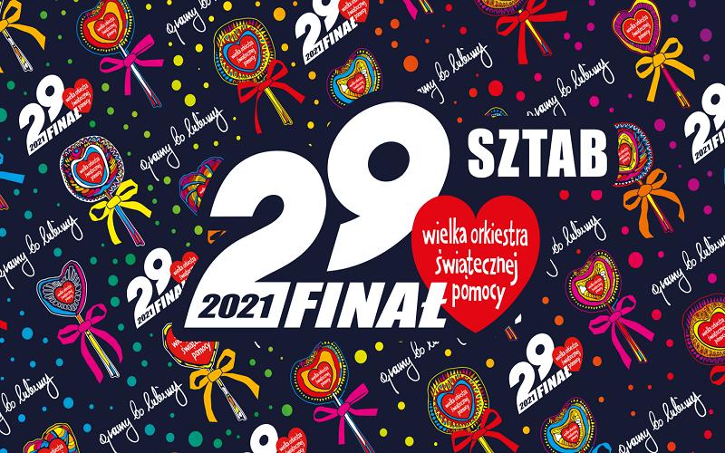 29 Finał Wielkiej Orkiestry Świątecznej Pomocy – zapraszamy dodziałania!