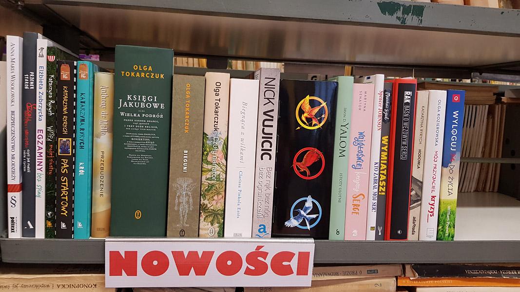 Nowe książki wbibliotece naszej szkoły !!!