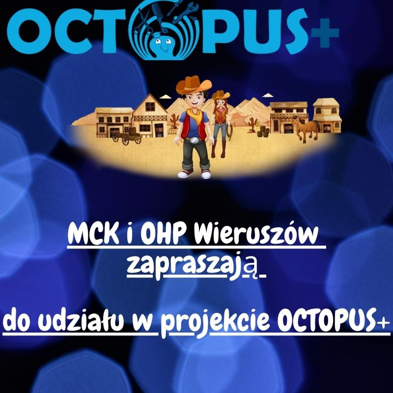 Młodzieżowe Centrum Kariery wWieruszowie zaprasza naplatformę edukacyjną OCTOPUS+